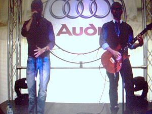 The MacDonald Brothers - The MacDonald Brothers performing live at an Audi event, 2008