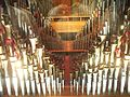 The Mighty Wurlitzer theatre organ pipes 1, Nethercutt Collection.jpg