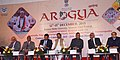 The Minister of State for AYUSH (Independent Charge) and Health & Family Welfare, Shri Shripad Yesso Naik at the Arogya Fair, at Banaras Hindu University, in Varanasi, Uttar Pradesh on December 12, 2015.jpg