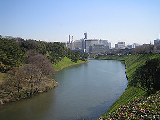 Tokyo Metropolitan Police Department - Image: The Moat of The Imperial Palace