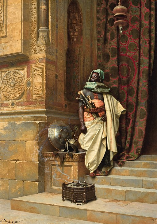The Palace Guard by Ludwig Deutsch, 1900