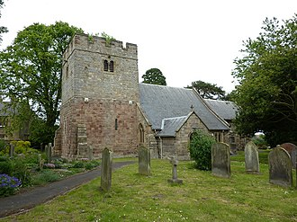 Longhoughton, Northumberland - Image: The Parish Church of St Peter and St Paul, Longhoughton