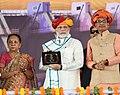 The Prime Minister, Shri Narendra Modi at the dedication ceremony of the Mohanpura Project to the Nation, in Madhya Pradesh.JPG