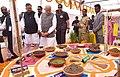 The Prime Minister, Shri Narendra Modi at the launch of Shyama Prasad Mukherji National Rurban Mission, at Kurubhat, Rajnandgaon, in Chhattisgarh (1).jpg