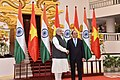 The Prime Minister, Shri Narendra Modi meeting the Prime Minister of the Socialist Republic of Vietnam, Mr. Nguyen Xuan Phuc, at the Presidential Place, in Hanoi, Vietnam on September 03, 2016.jpg