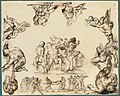 The Rescue of a Drowned Man (recto); Study of a Horse (verso) MET 2001.379a.jpg