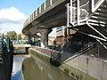 The River Ravensbourne near Deptford Bridge DLR station (3) - geograph.org.uk - 1081546.jpg