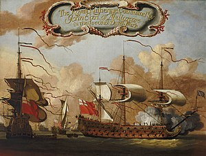 Matthew Aylmer, 1st Baron Aylmer - The second-rate HMS ''Royal Katherine'', which Aylmer commanded at the Battle of Beachy Head