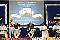 The Vice President, Shri M. Hamid Ansari at the Valedictory Function of the Centenary Celebrations of the Mysuru University, in Mysuru.jpg