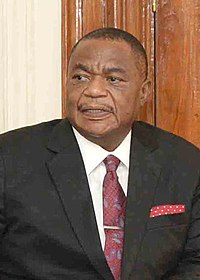 The Vice President of the Republic of Zimbabwe, General (Retd.) Dr. Constantino Chiwenga on March 23, 2018 (cropped).jpg