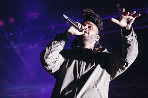 The Weeknd discography - The Weeknd at the Bumbershoot in Seattle, Washington during 2015