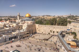 Western Wall - The Western Wall and Dome of the Rock