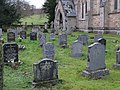 The churchyard of Holy Trinity Church, Whitfield - geograph.org.uk - 627265.jpg