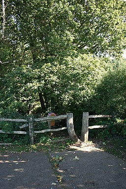 The entrance to Borthwood Copse - geograph.org.uk - 981018