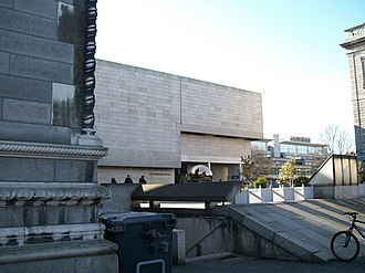 1967 in architecture - Image: The entrance to the Berkeley Library, TCD geograph.org.uk 1739702