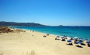 The nudists' part of Plaka beach, Naxos island, Greece - panoramio.jpg