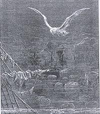 Gravura de Gustave Doré para a Balada do Velho Marinheiro de Coleridge.