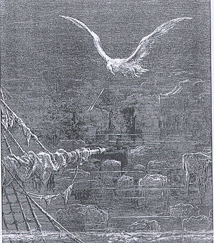 The albatross from The Rime of the Ancient Mar...