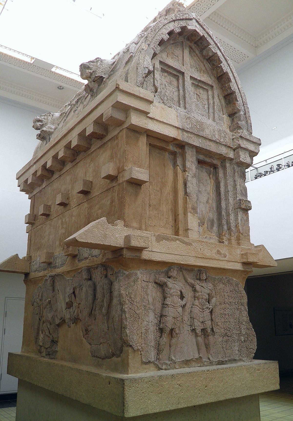 Tombs At Xanthos Wikipedia