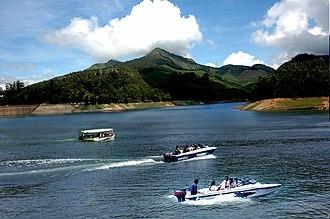 Thekkady - Boating at Thekkady