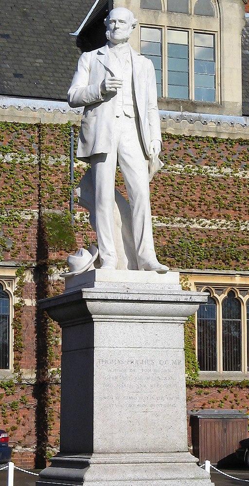 Thomas Hughes statue