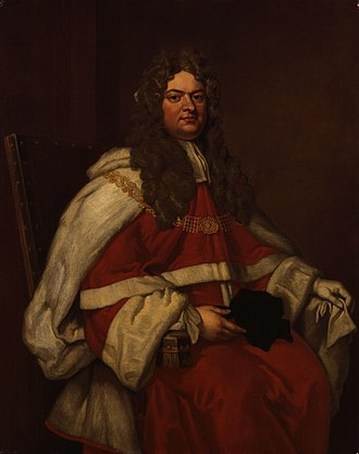 Thomas Parker, 1st Earl of Macclesfield - Portrait after Sir Godfrey Kneller (1712).