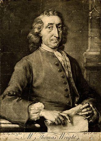 Thomas Wright (astronomer) - Thomas Wright in 1737