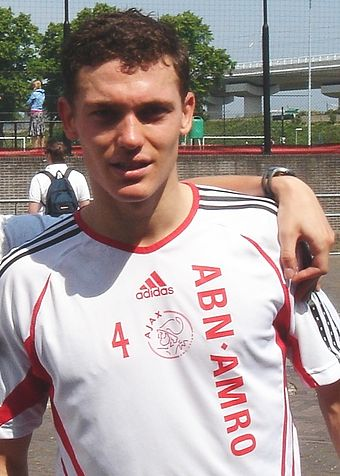 Vermaelen with Ajax from 2000-2009 Thomas vermaelen.JPG