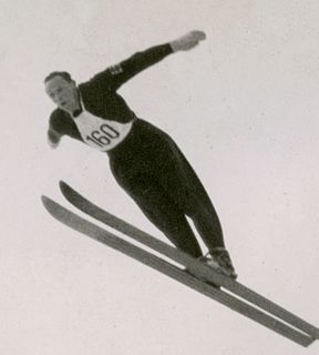 Thorleif Schjelderup Norwegian ski jumper
