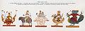 Thuriya (Suriya), Agni, Thagyamin (Indra), Byamma (Brahma) and Thukanda (Skanda).jpg