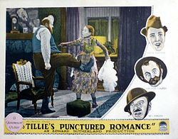 Tillie's Punctured Romance (1928 film) - Wikipedia