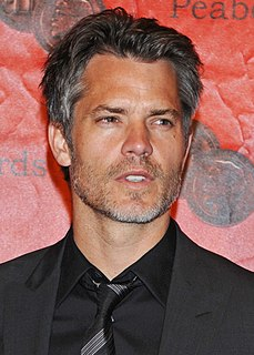 Timothy Olyphant American actor