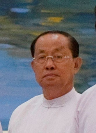 Vice-President of Myanmar - Image: Tin Aung Myint Oo