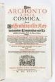 """Titelblad till """"Nya antologin Cosmica"""" från 1646 - Skoklosters slott - 93261.tif"""