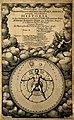 "Titlepage of Robert Fludd's ""Utriusque cosmi maioris scilice Wellcome V0001948.jpg"