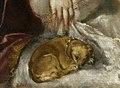 Tizian - Danae receiving the Golden Rain - Prado (cropped).jpg