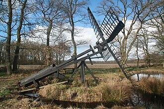 Tjaskers in Drenthe - Tjasker Bollenveen, April 2009