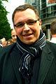 Tobias Glawion, Evangelischer Kirchenfunk Niedersachsen, bei der Solidaritätstafel 2012, Hannover Georgstraße.jpg