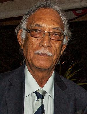 Premier of Niue - Image: Toke Talagi 2014