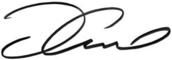 Tom Cruise signature