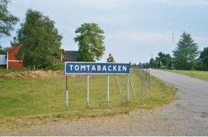 Tomtabacken