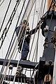 Tonnerres de Brest 2012 - La Recouvrance - Le gabier - 203.jpg
