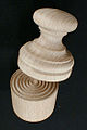 Top view of Wooden Corzetti Stamp.jpg