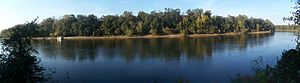 Apalachicola River - View of Apalachicola River, Torreya State Park, Florida Panhandle
