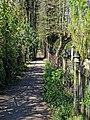 Tottenham Cemetery footpath, Haringey, London, England 1.jpg