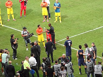 Tournoi de Paris - Image: Tournoi de Paris 2012 (PSG vs Barcelona)
