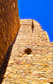 Tower rising in Chaco Canyon - NW New Mexico, USA.png