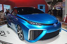2017 Toyota Fcv Concept Car
