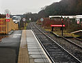Track east from Okehampton railway station.jpg