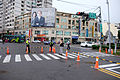 Traffic Control in Intersection of Zhongzheng Road, Tiedao Road Section 3 and Chenggong Road, Hsinchu City 20151121.jpg